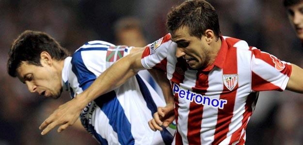Lance del último Athletic de Bilbao-Real Sociedad