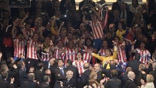El Atlético de Madrid remonta al Real Madrid en la final de la Copa del Rey