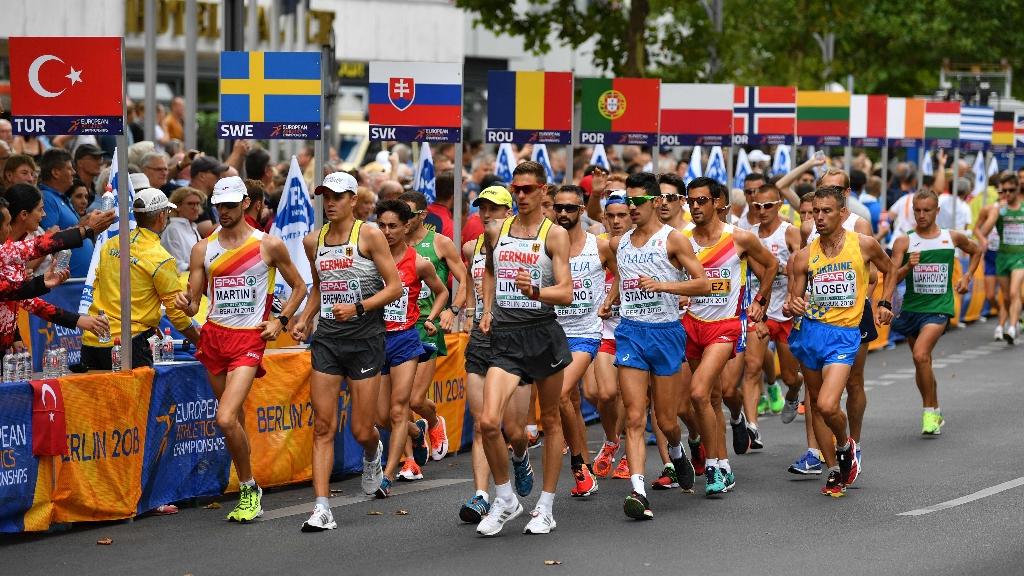 European Sports Championships 2018 - Atletismo 20 KM Marcha Masculino y Femenino