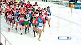 Atletismo - Cross Campeonato de Europa - Carrera Junior masculina