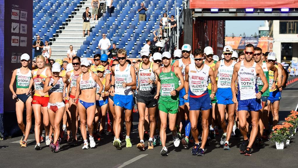 European Sports Championships 2018 - Atletismo sesión Matinal 50 km Femeninos y Masculinos (1)