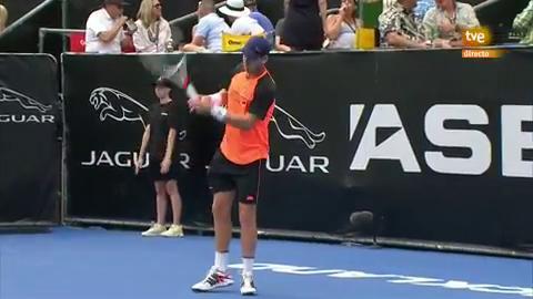 Tenis - ATP Auckland 2ª Semifinal: C. Norrie - J. Struff