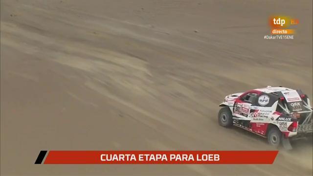 Al Attiyah acarica su tercer Dakar tras quedar segundo en la octava etapa