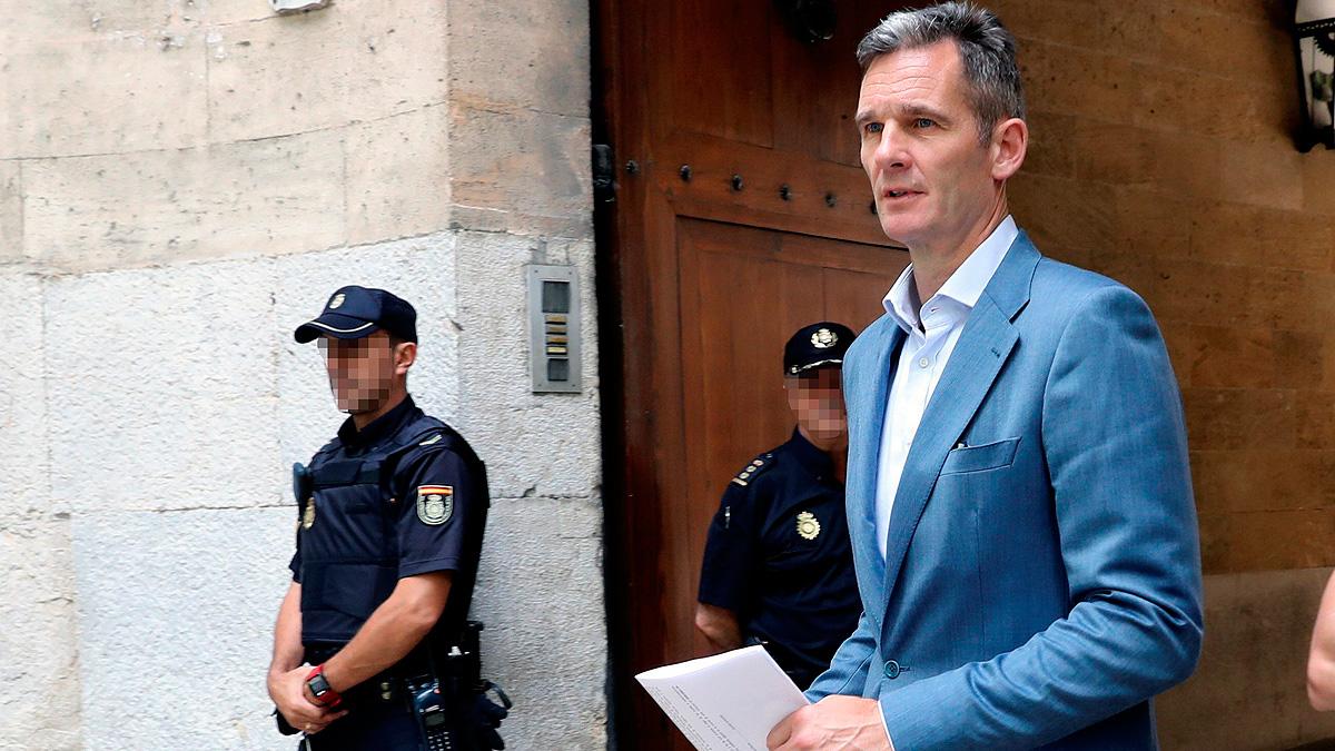 La Audiencia de Palma da cinco días a Urdangarin y Torres para entrar en prisión