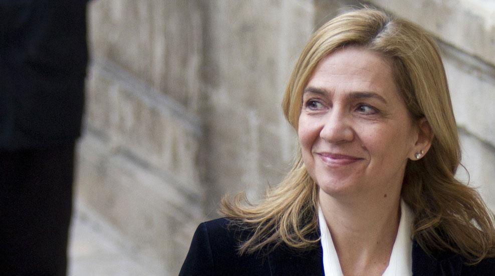 La Audiencia de Palma mantiene a la infanta Cristina imputada por delito fiscal y la exonera de blanqueo de capitales