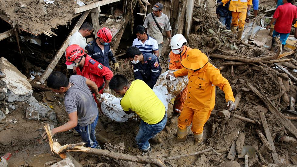Aumentan a 254 los muertos por la avalancha de Mocoa, según el presidente Santos