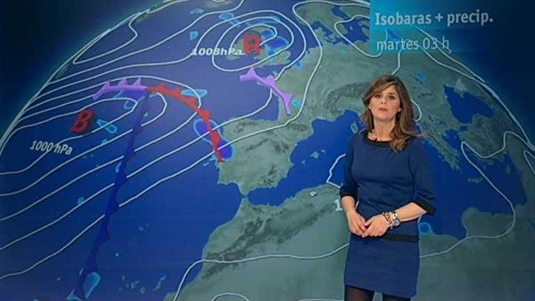 La semana empieza con lluvias en el norte y  aumento de las temperaturas en toda España