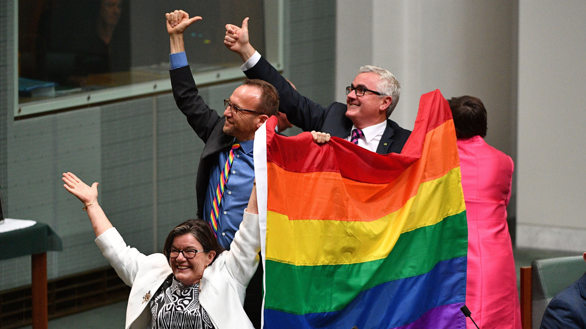 El Parlamento australiano aprueba legalizar el matrimonio homosexual
