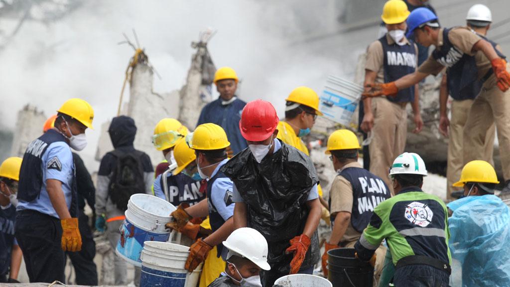 Las autoridades desmienten la presencia de la niña Frida bajo los escombros de una escuela
