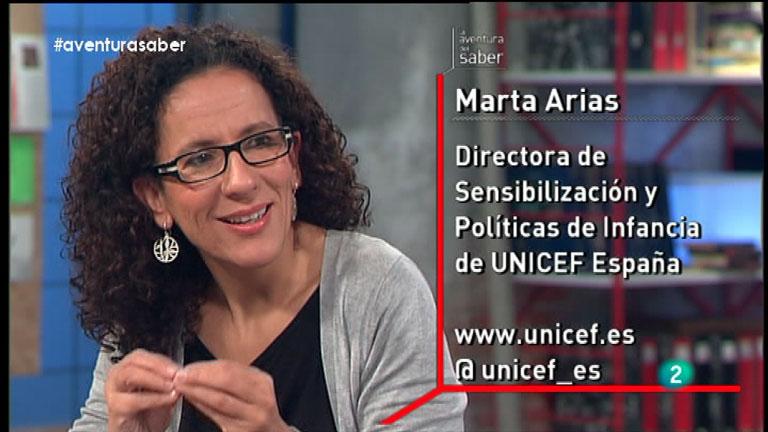 La Aventura del Saber. Marta Arias. UNICEF España