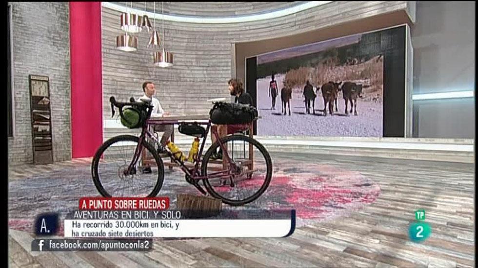 A punto con La 2 - Sobre ruedas - Aventuras en bicicleta