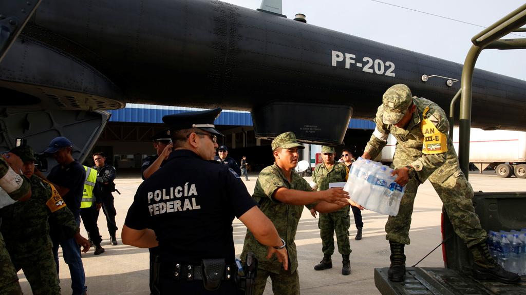 La ayuda empieza a llegar a las zonas más afectadas por el terremoto en México