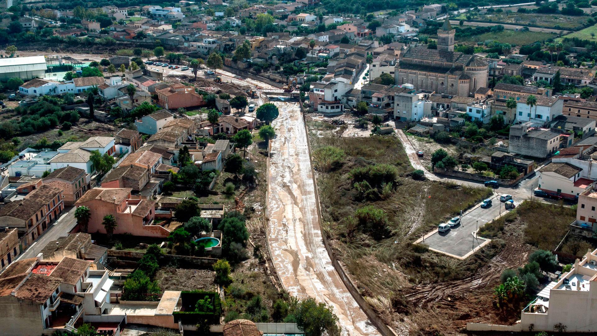 Las ayudas llegan a los afectados por la riada en Mallorca