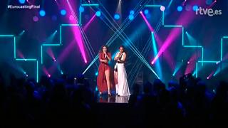 Eurocasting - Azúcar Moreno cantan 'Bandido' en la final del Eurocasting