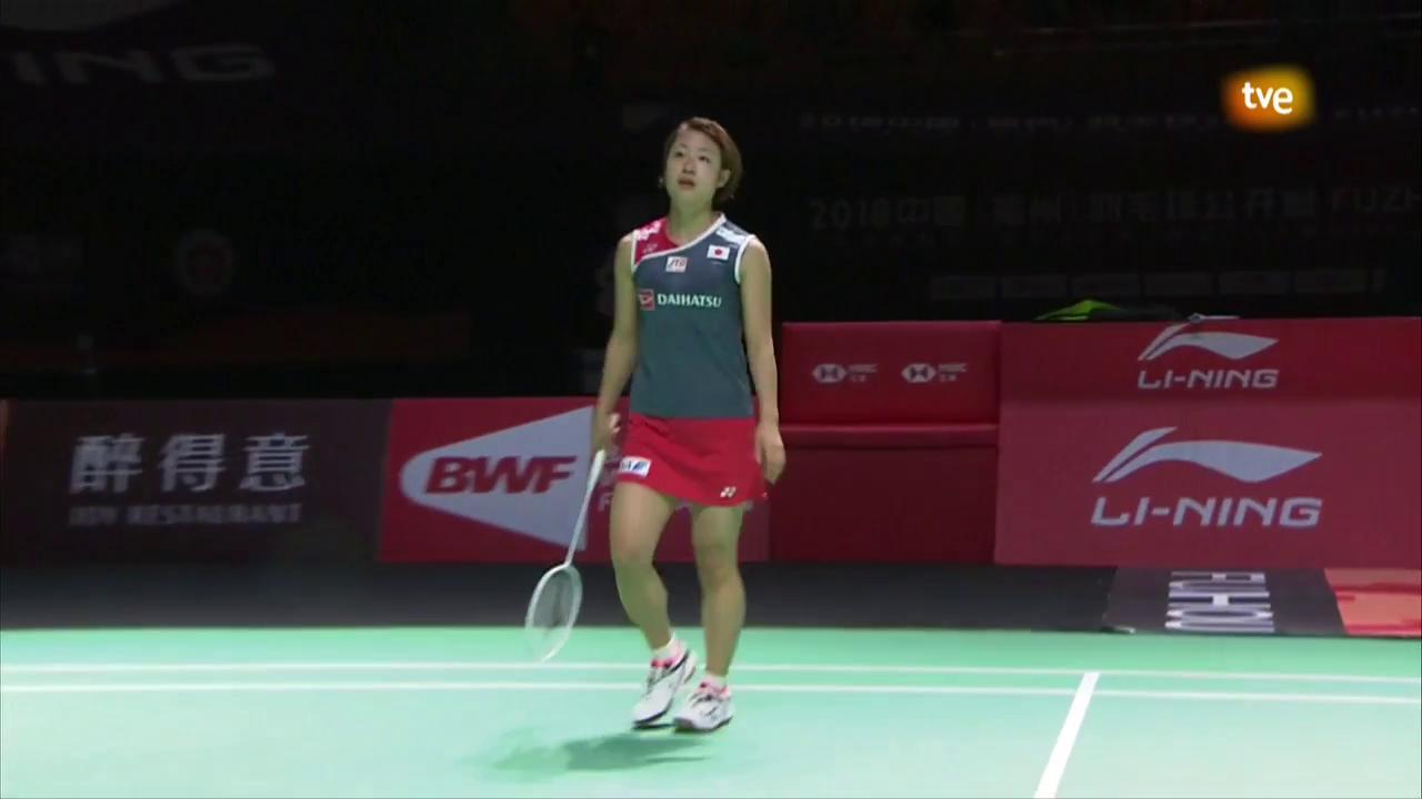 Masters de China 2018' Final Individual Femenina