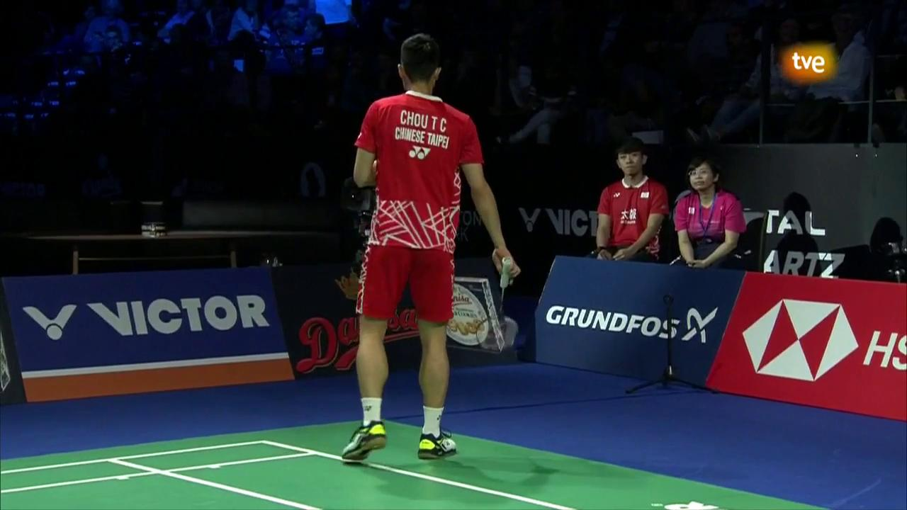 'Open de Dinamarca 2018' Final Individual Masculina