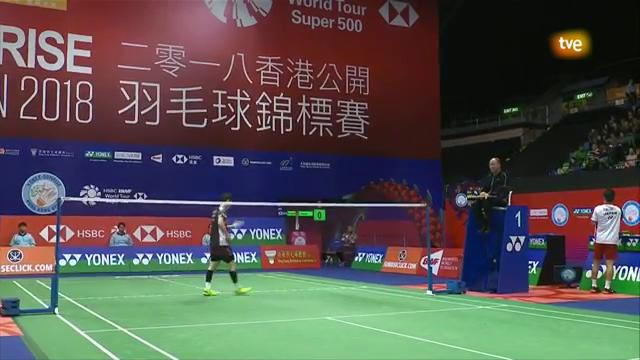 Open Hong Kong 2018. Final individual masculina
