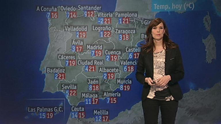 Ligero descenso de las temperaturas en la mitad oeste peninsular