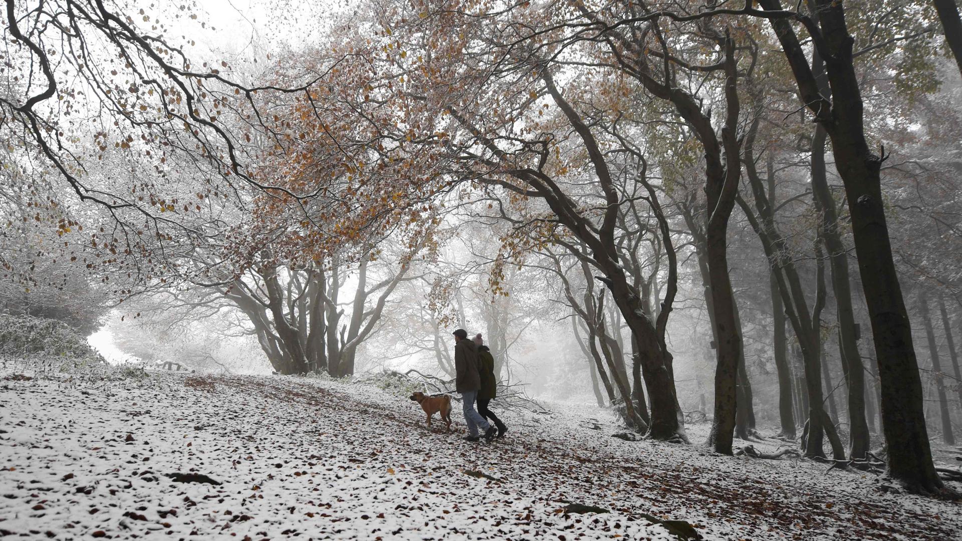 Bajada de temperaturas generalizada y nieve en el norte