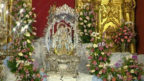 Bajada de la Virgen del Pino de su camarín - 05/09/2018