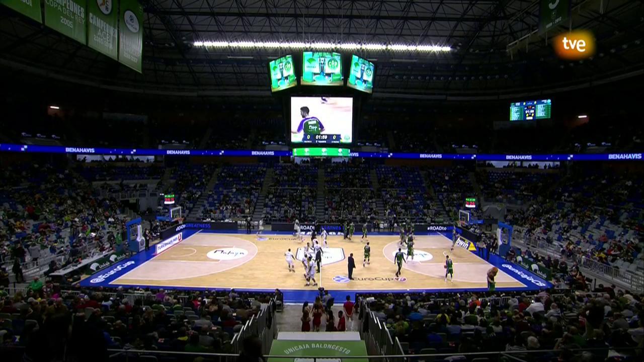 Eurocup Top 16 3º partido: Unicaja Málaga - Limoges