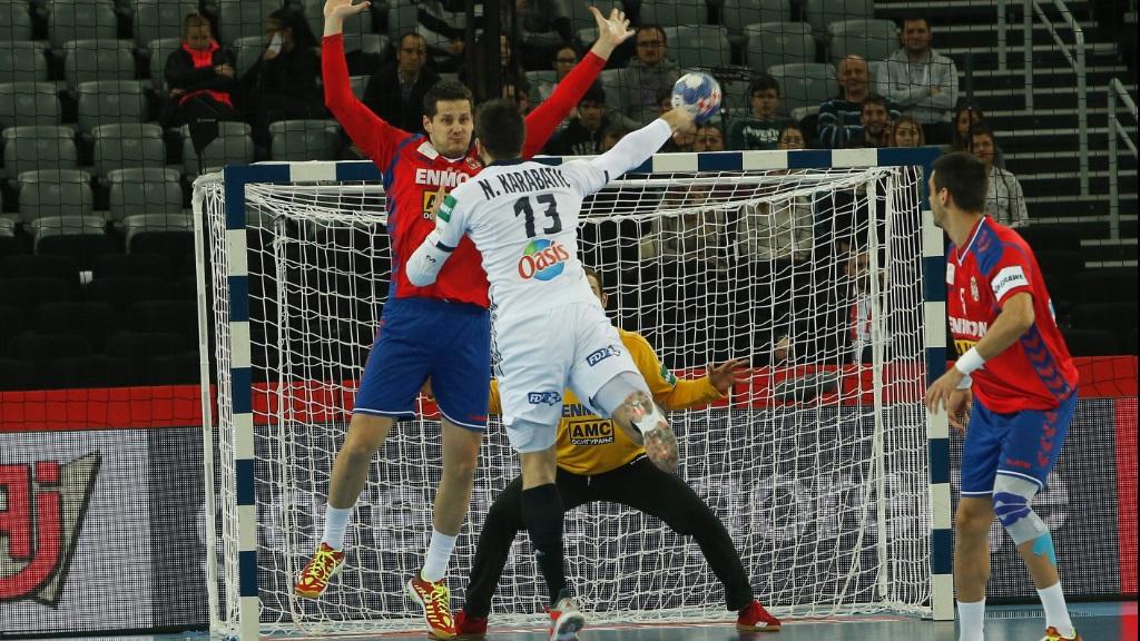 Cto. de Europa Masculino 2ª ronda: Serbia - Francia