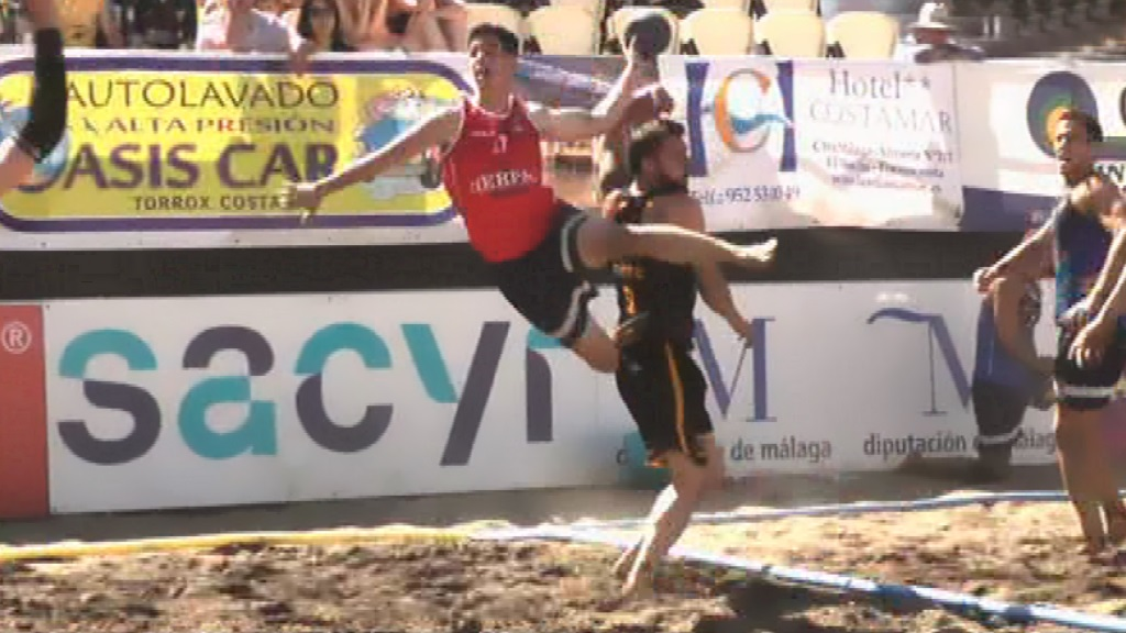 Balonmano Playa - Copa de España desde Torrox (Málaga) Resumen