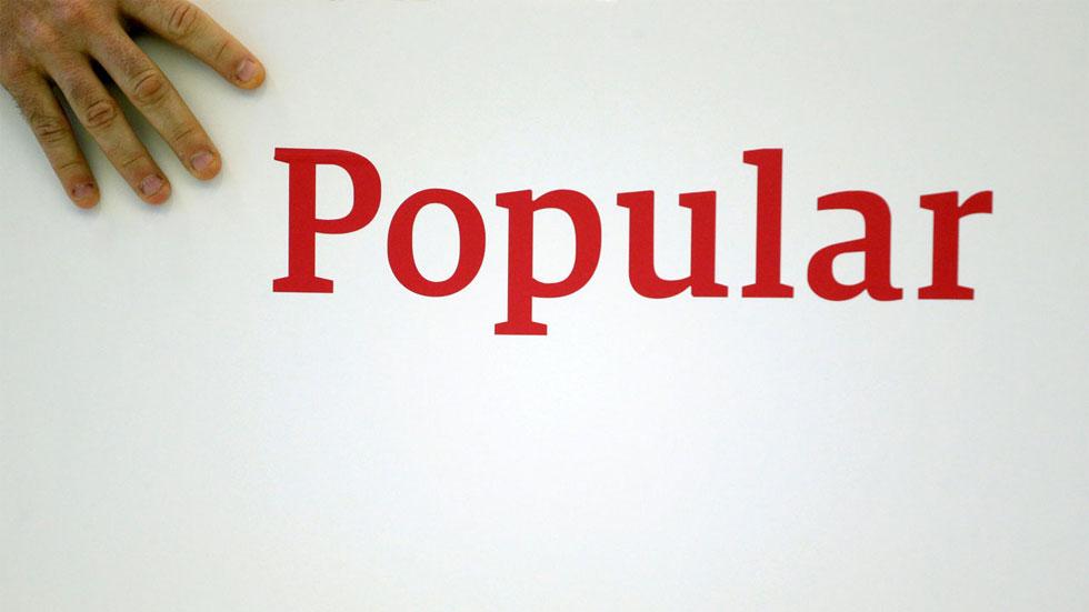 El Banco Popular pierde el 38% de su valor en Bolsa en una semana