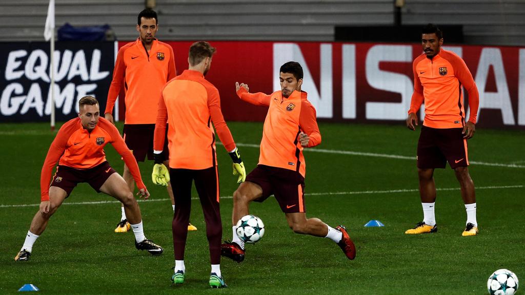 El Barça busca sellar el pase a octavos ante el Olympiacos