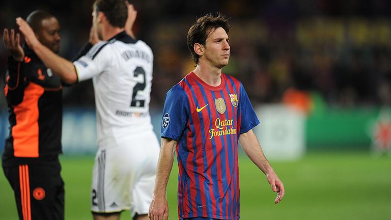 El Barça cae ante un Chelsea infranqueable