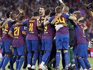 El Barça gana la Supercopa con bronca final