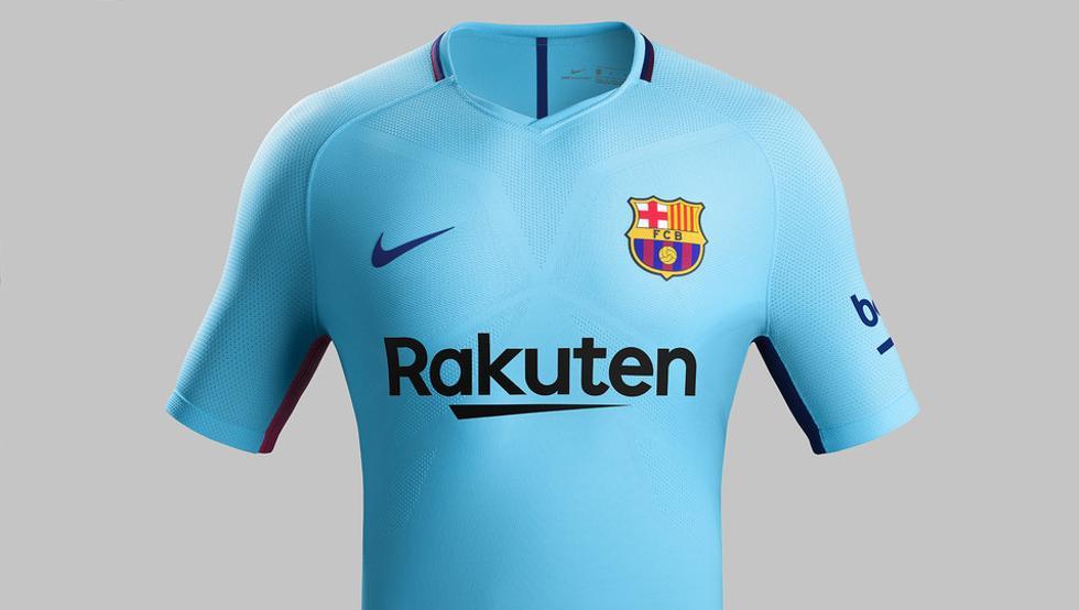 El Barça presenta su segunda equipación