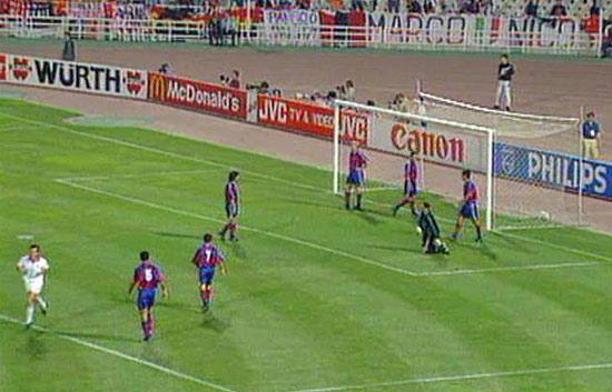 El Barça sucumbió ante el Milán (1994)