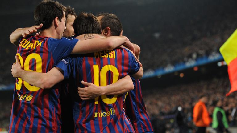El Barça supera al Milan y se mete en semifinales