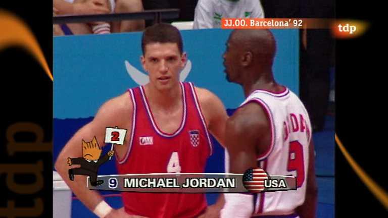 Londres en juego - Barcelona 1992 - Baloncesto: EEUU-Croacia