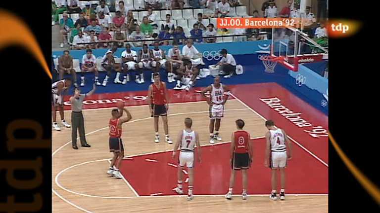 Londres en juego - Barcelona 1992. Baloncesto: España - EEUU