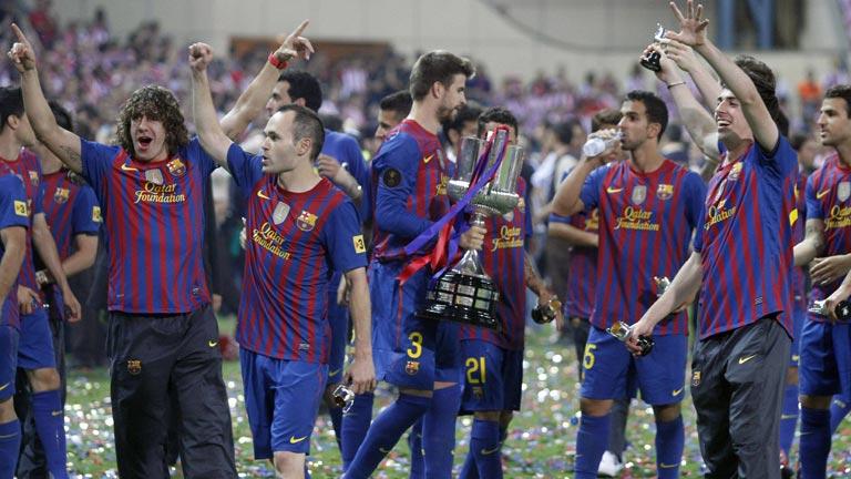 El Barcelona gana al Athletic la final de la Copa del Rey