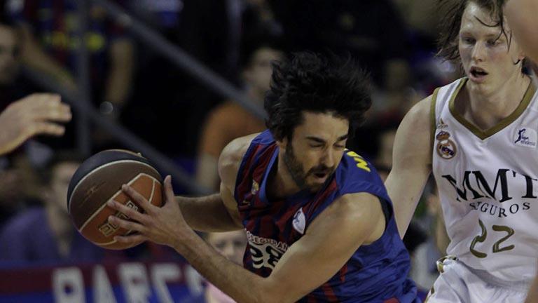 El Barcelona Regal gana el 'clásico' al Madrid y asegura el liderato