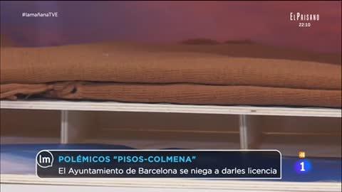 """La mañana - Barcelona se niega a dar licencia a los """"pisos colmena"""""""
