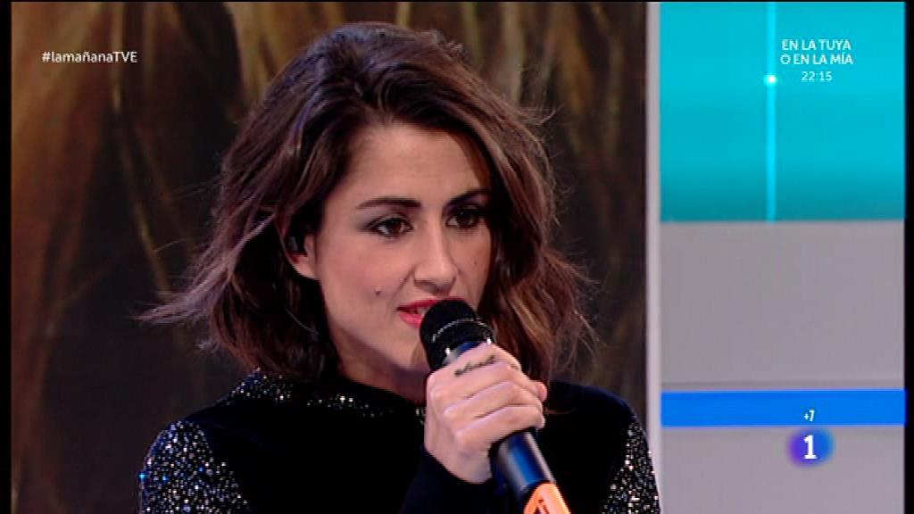 Barei canta en directo en La Mañana