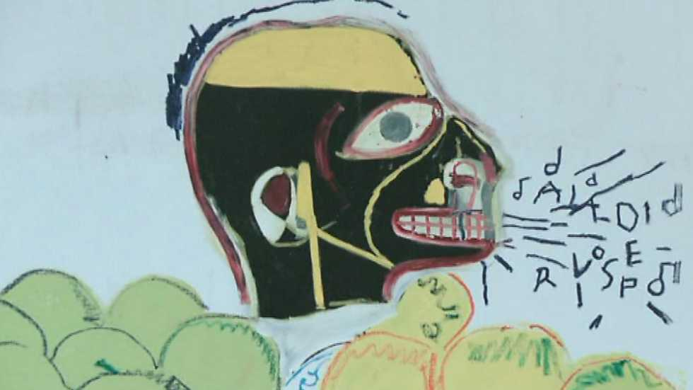 La sala: Guggenheim - M. Basquiat