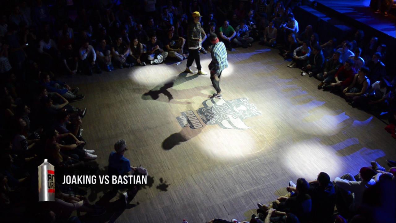 Batalla entre Joaking y Bastian. Dos de los mejores bboys del panorama nacional