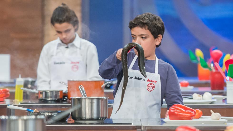 MasterChef Junior 5 - La batalla de Juan Antonio contra la anguila
