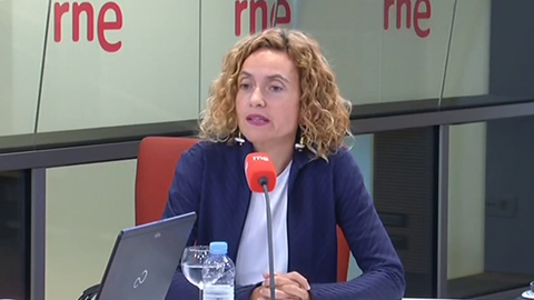 """Las mañanas de RNE con Íñigo Alfonso - La ministra Batet: """"A los partidos independentistas les queda poco más que la gesticulación"""""""