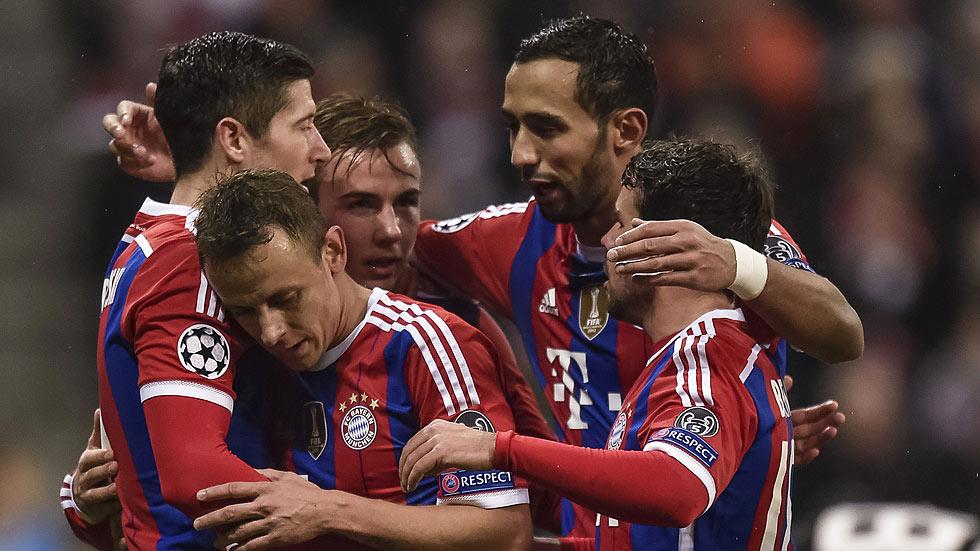 Bayern de Múnich y PSG certifican su pase a octavos