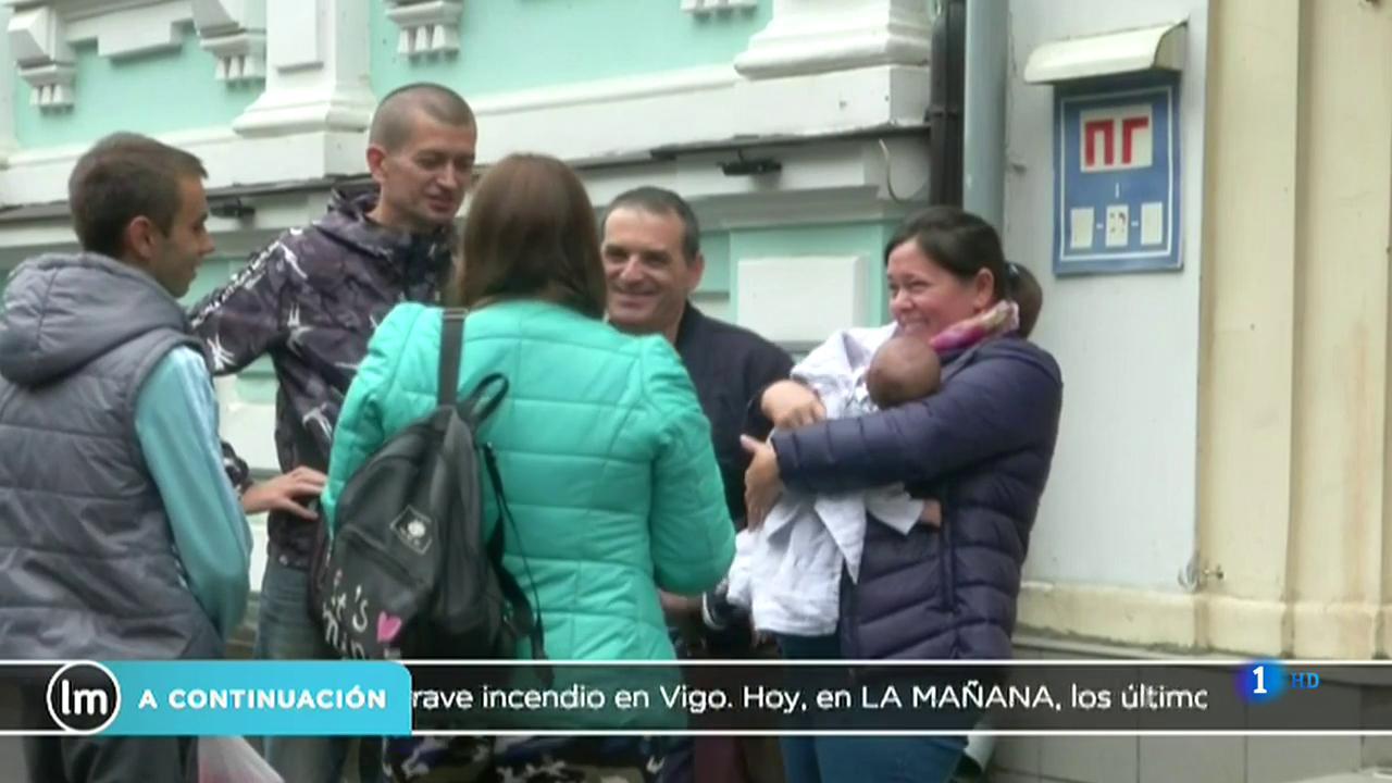 La Mañana - Los bebés nacidos por gestación subrogada en Ucrania podrán tener pasaporte