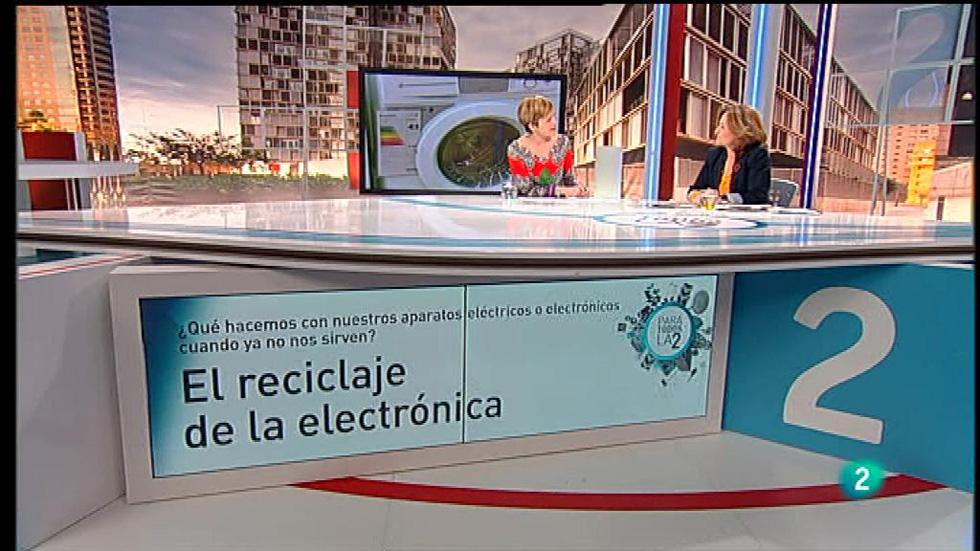 Para Todos la 2 - Entrevista - Begoña Fabrellas, el reciclaje de la electrónica