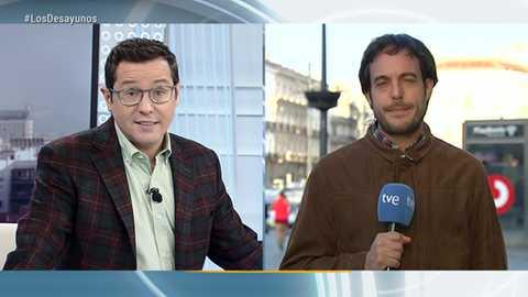 Los desayunos de TVE - Begoña Villacís, portavoz de Ciudadanos en el Ayuntamiento de Madrid