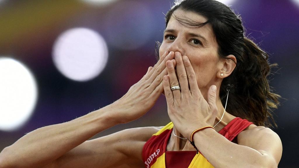 Beitia se despide emocionada de los Mundiales