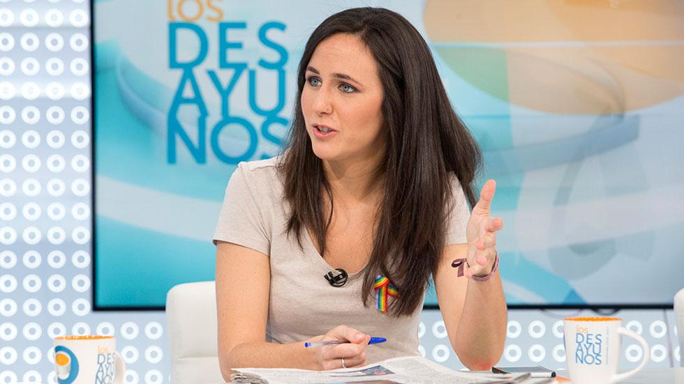 """Belarra (Podemos): """"Un grupo de trabajo parlamentario con el PSOE está bien, pero hay que construir una alternativa al PP cuanto antes"""""""